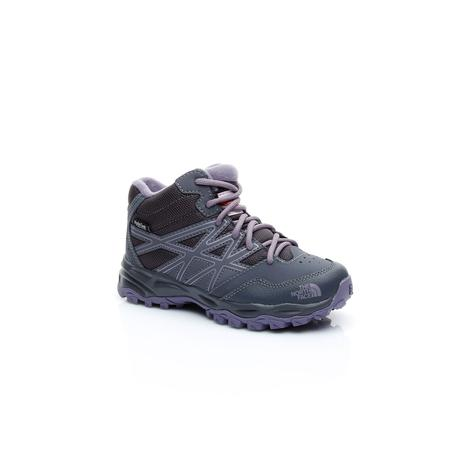 The North Face JR HH Hiker Mid WP Unisex Çocuk Mor Ayakkabı