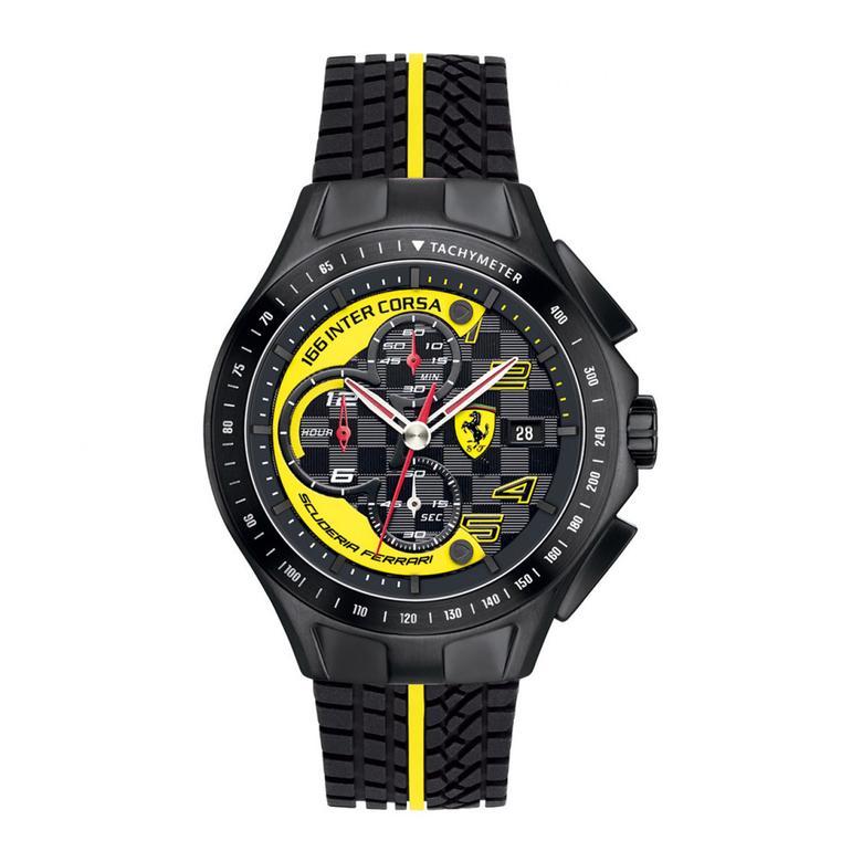 Ferrari Erkek Siyah Saat