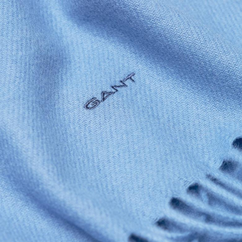 Gant Kadın Mavi Yün Atkı