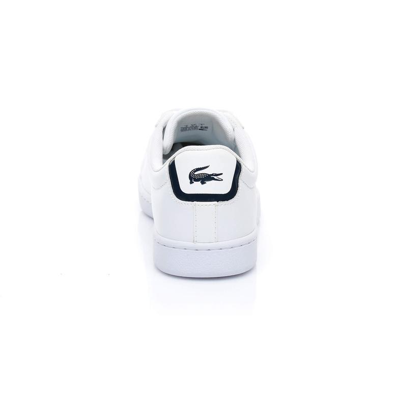 Lacoste Kadın Carnaby Evo BL 1 Beyaz Sneaker