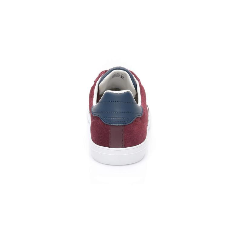 Lacoste Fairlead Erkek Bordo Sneaker