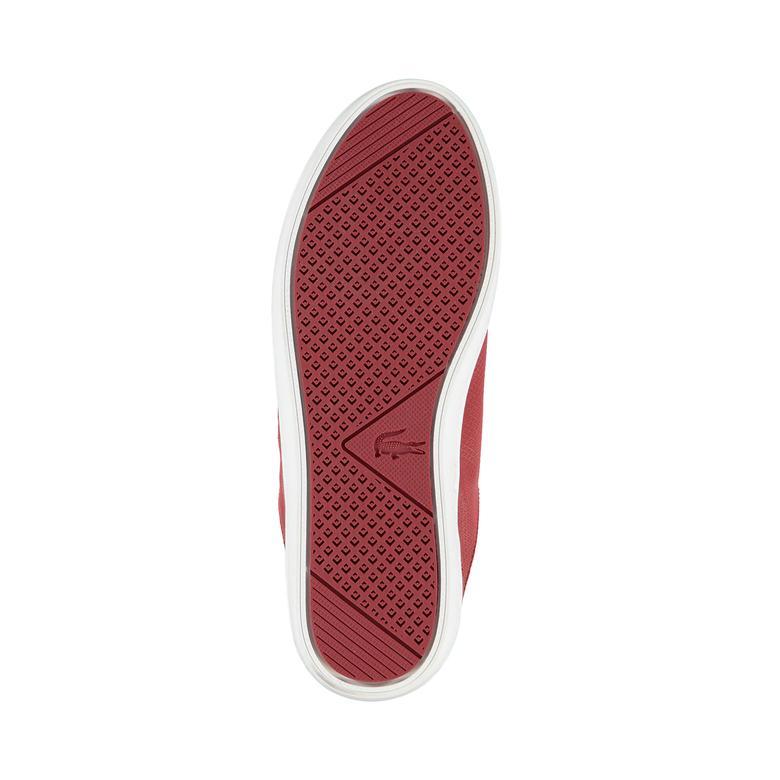 Lacoste Straightset Lace 317 2 Kadın Kırmızı Sneaker