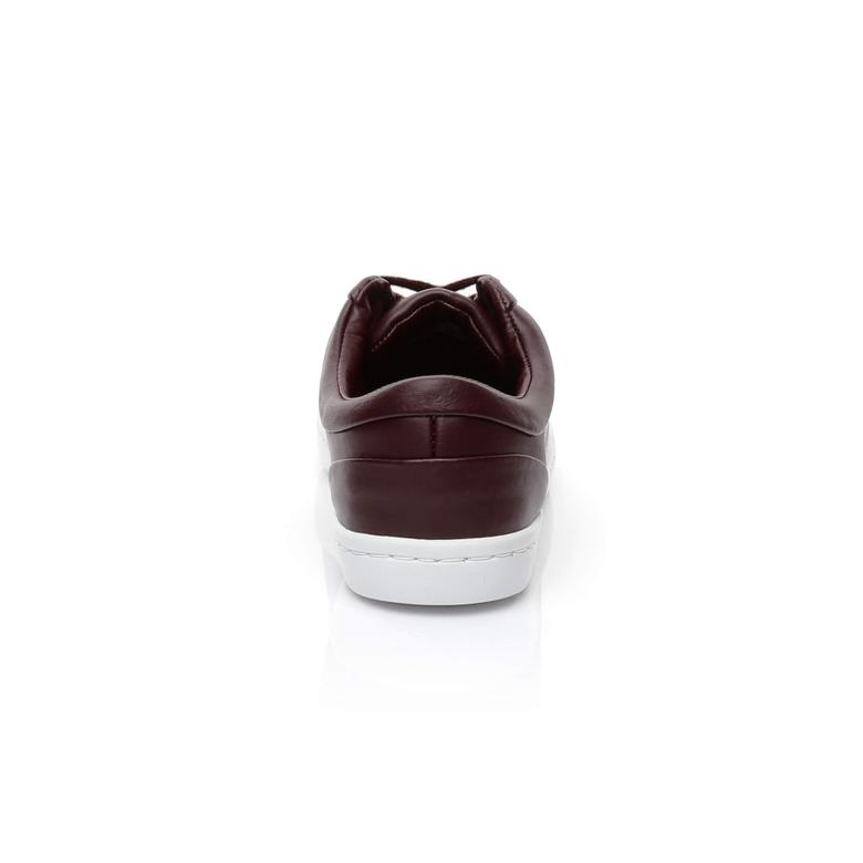 Lacoste Straightset Lace 317 3 Kadın Bordo Sneaker