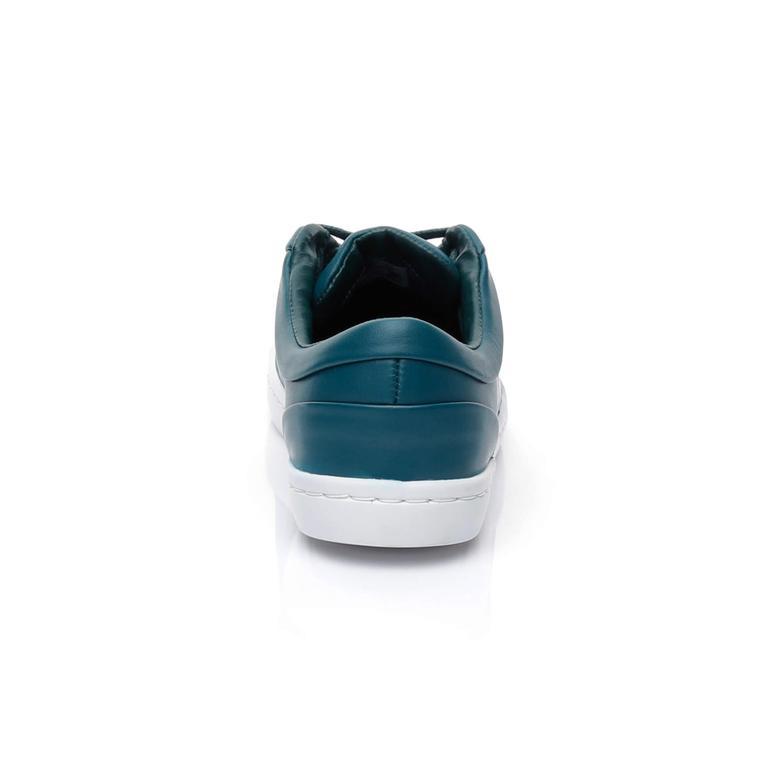 Lacoste Straightset Lace 317 3 Kadın Yeşil Sneaker