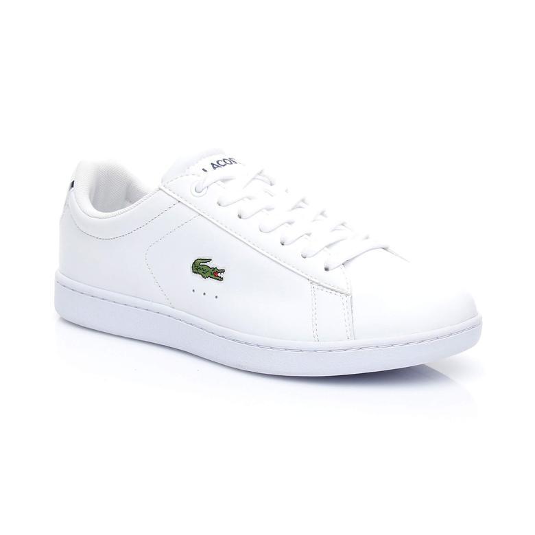 Lacoste Carnaby Evo BL 1 Kadın Beyaz Sneaker