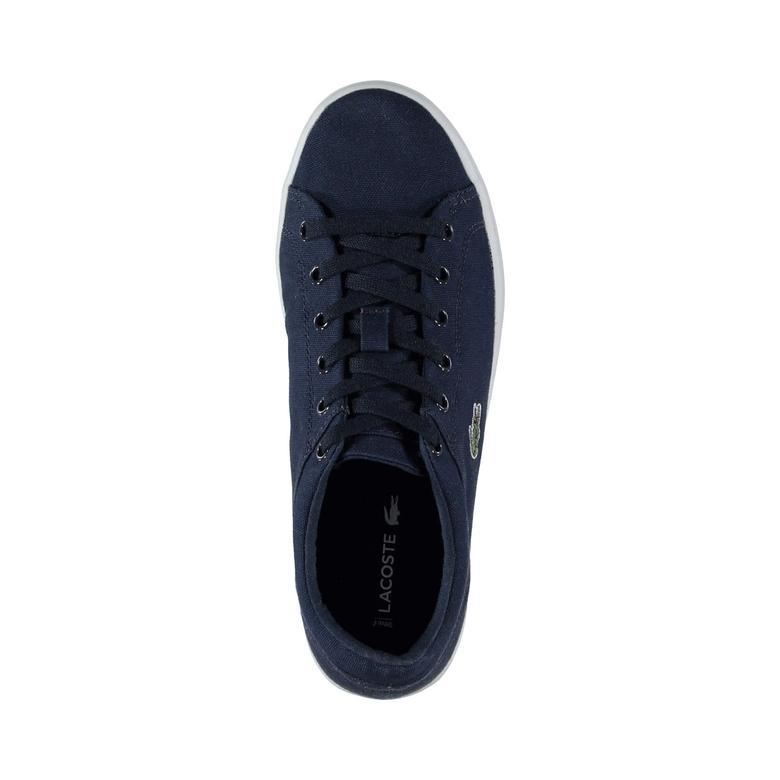 Lacoste Straightset Kadın Lacivert Sneaker