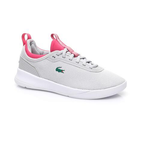 Lacoste LT Spirit 2.0 Kadın Gri Spor Ayakkabı