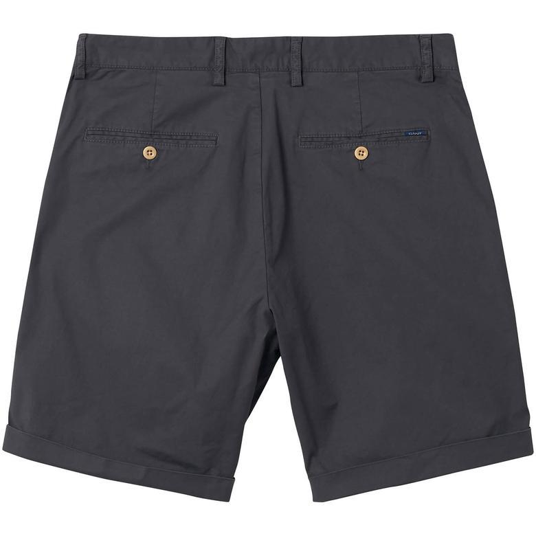 Gant Regular Sunbleached Shorts Erkek Gri Şort