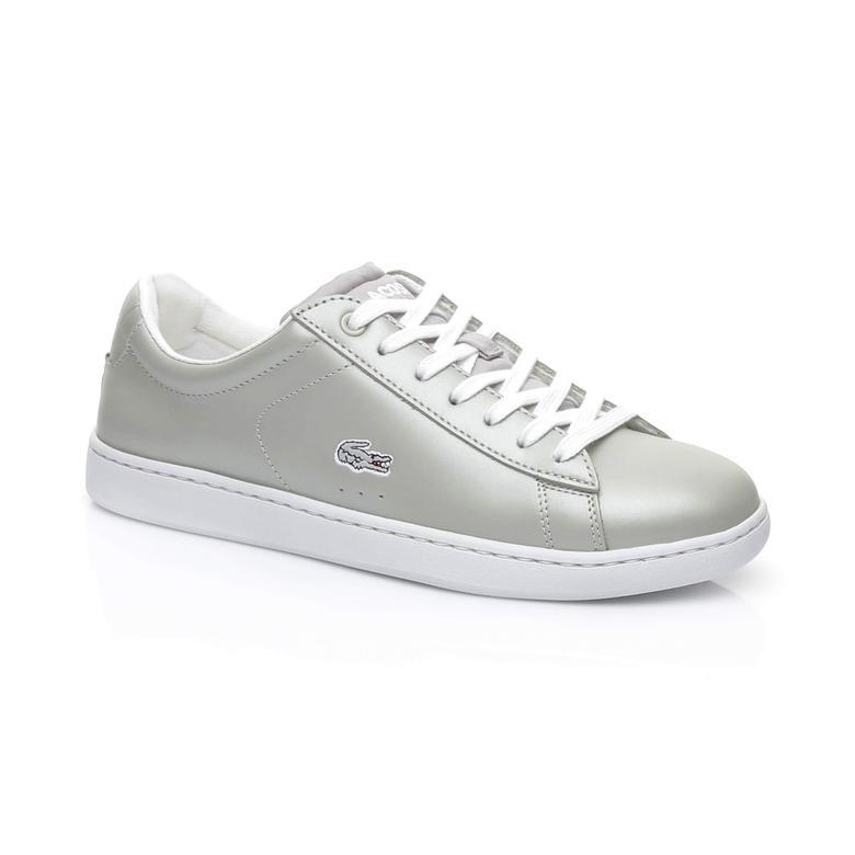 Lacoste Carnaby Evo Kadın Gri Sneaker