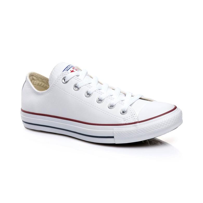 Converse Chuck Taylor All Star Unisex Beyaz Deri Sneaker