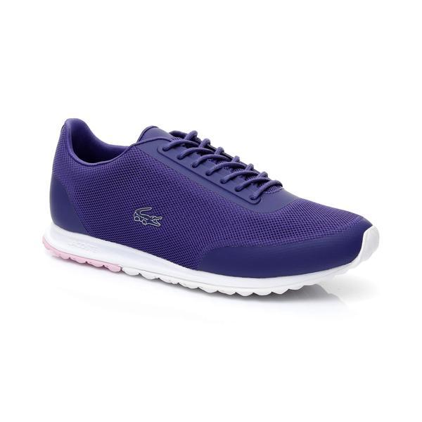 Lacoste Helaine Runner Kadın Mor Sneaker