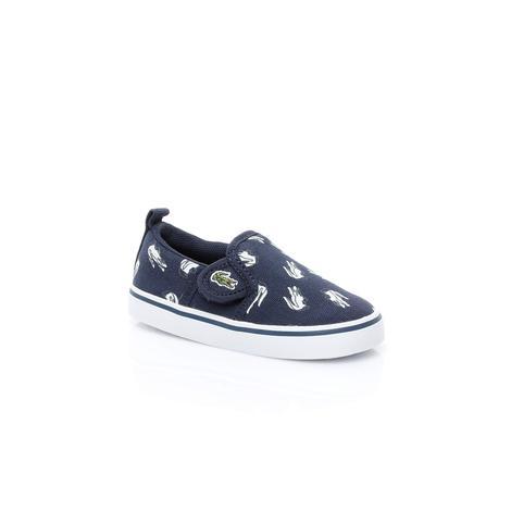 Lacoste Gazon Çocuk Lacivert Sneaker