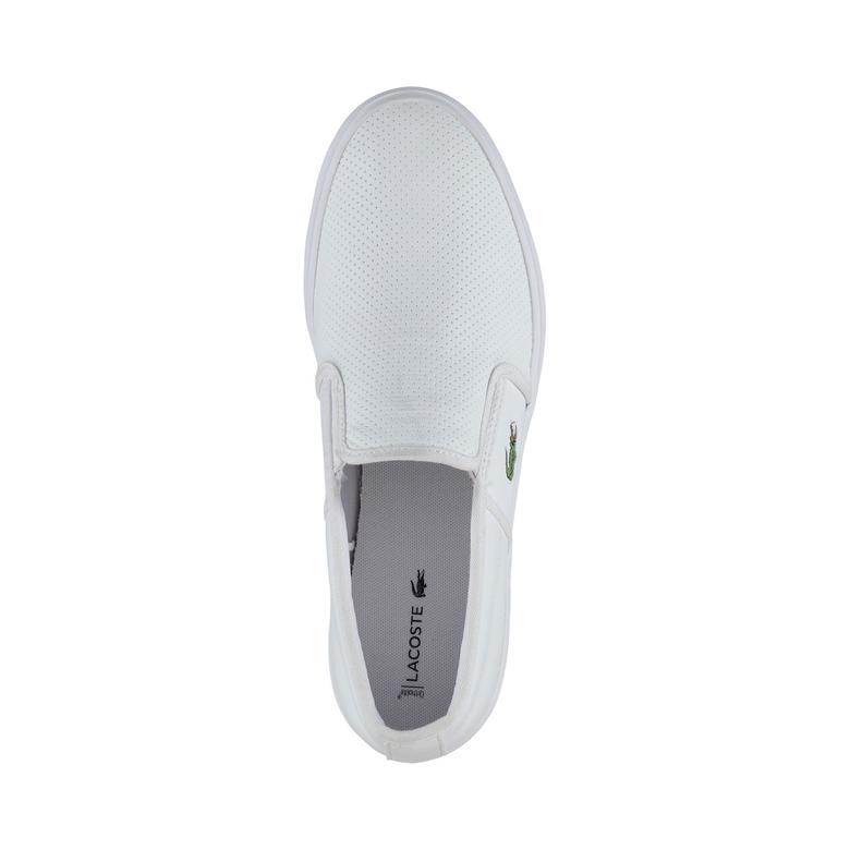 Lacoste Gazon Erkek Beyaz Sneaker