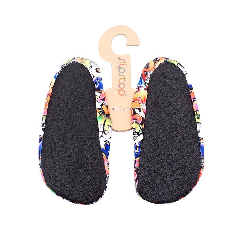 Slipstop Grafitti Junior Renkli Çocuk Havuz Ayakkabısı