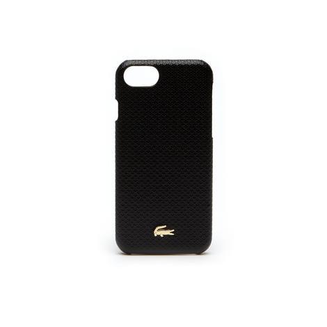 Lacoste Unisex Siyah Iphone 8 Kılıfı