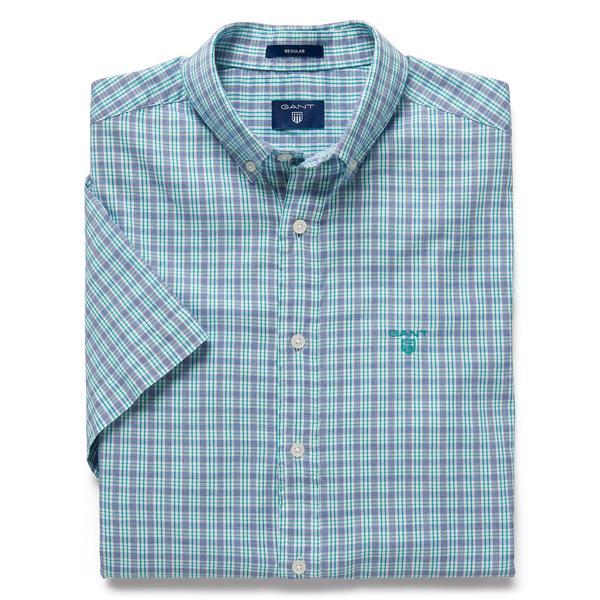Gant Erkek Windblown Oxford Stripe Yeşil Reg Gömlek