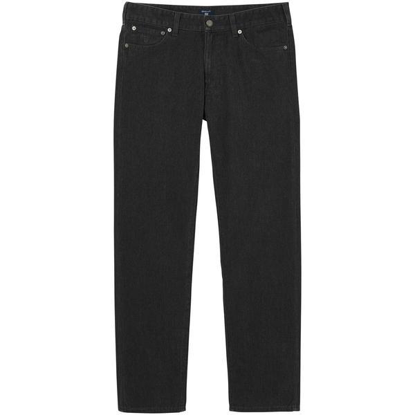 Gant Erkek Soft Twill Siyah Regular Jean Pantolon