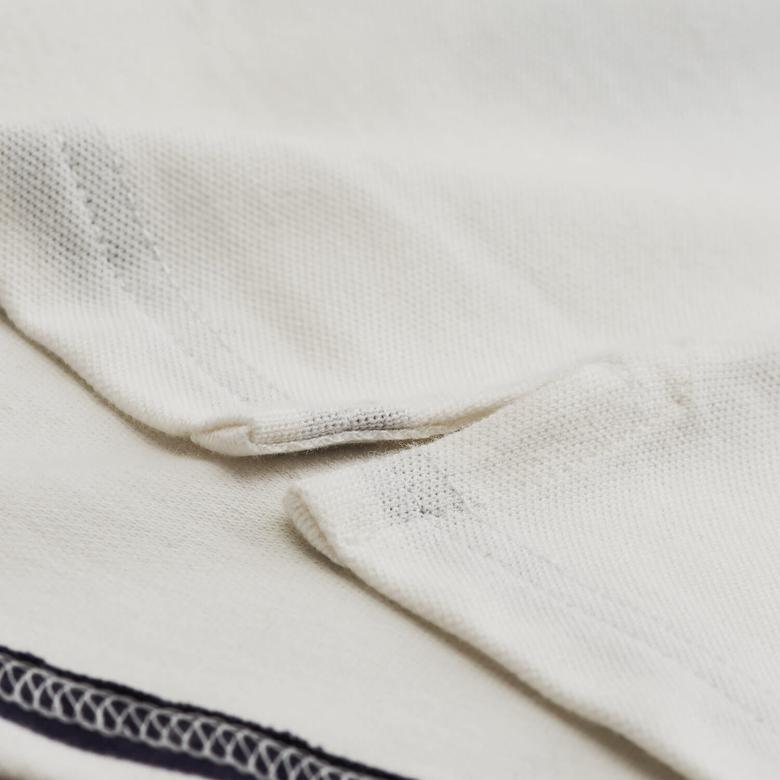 Gant Multi Stripe Pique Ss Rugger Erkek Lacivert Regular Fit Polo