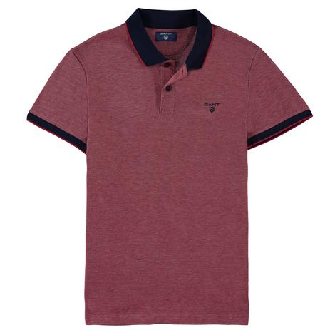 Gant Erkek Piqué Rugger Bordo Regular Fit Polo