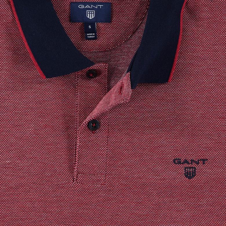 Gant Erkek Piqué Rugger Bordo Regular Fit Polo