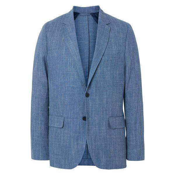 Gant Erkek Keten Mavi Blazer