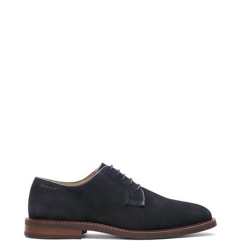 Gant Ricardo Derby Erkek Lacivert Ayakkabı