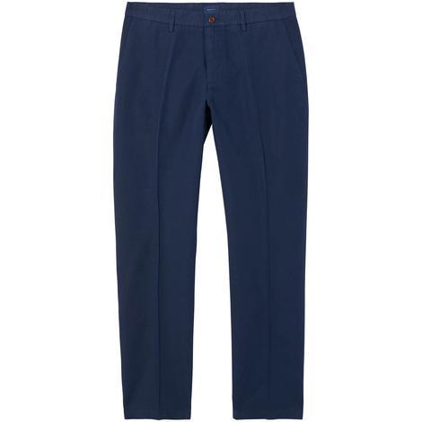 Gant Erkek Regular Cotton Linen Lacivert Chino Pantolon