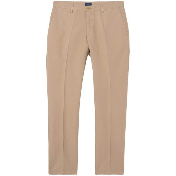 Erkek Chino Bej Regular Pantolon