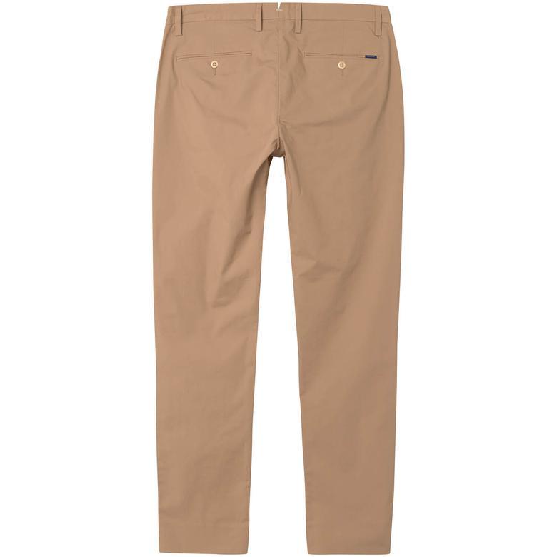 Erkek Chino Bej Slim Pantolon