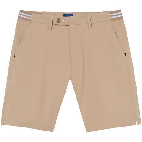 Gant Regular Tech Prep? Sport Shorts Erkek Bej Şort