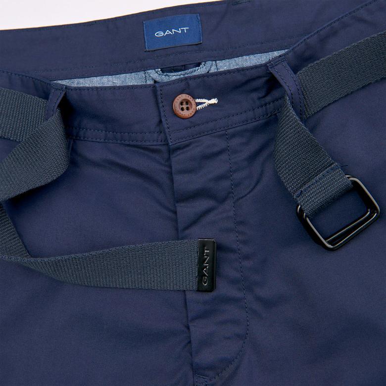 Gant Relaxed Tech Prep Belted Utility Shorts Erkek Lacivert Şort