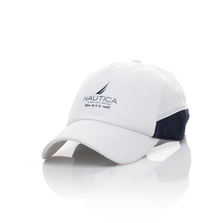 Nautica Erkek Beyaz Şapka
