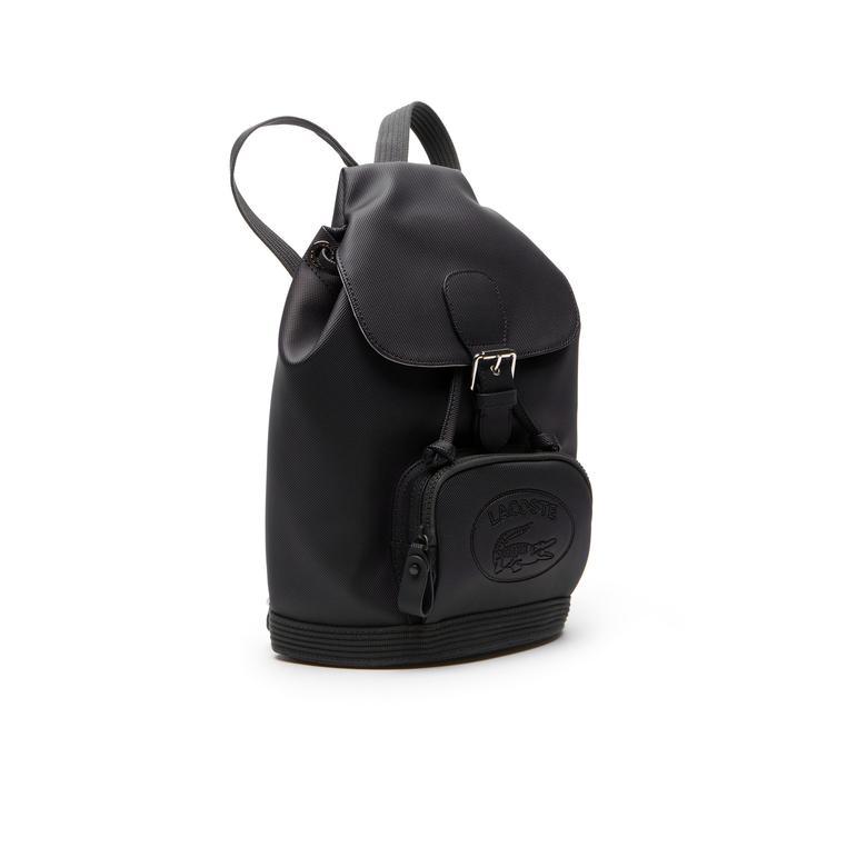 Lacoste Nf2630 Kadın Siyah Sırt Çantası