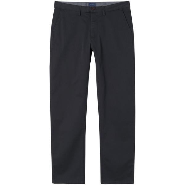 GANT Erkek Siyah Regular Fit Chino Pantolon