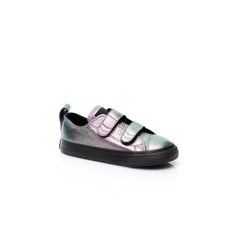 Converse Chuck Taylor All Star V Çocuk Gri Sneaker