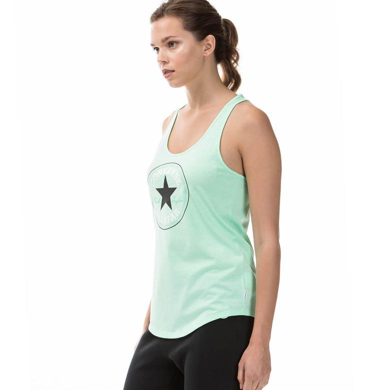 Converse Classic Kadın Yeşil Tshirt