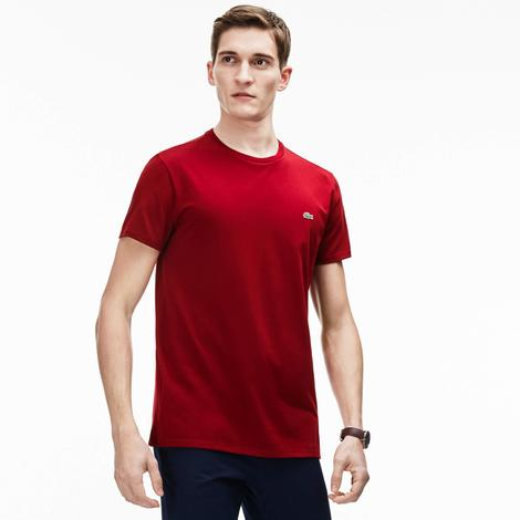 Lacoste Erkek Regular Fit Bordo T-Shirt