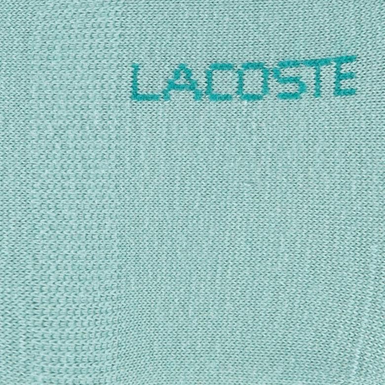 Lacoste Kadın Pembe - Mavi 2'li Çorap