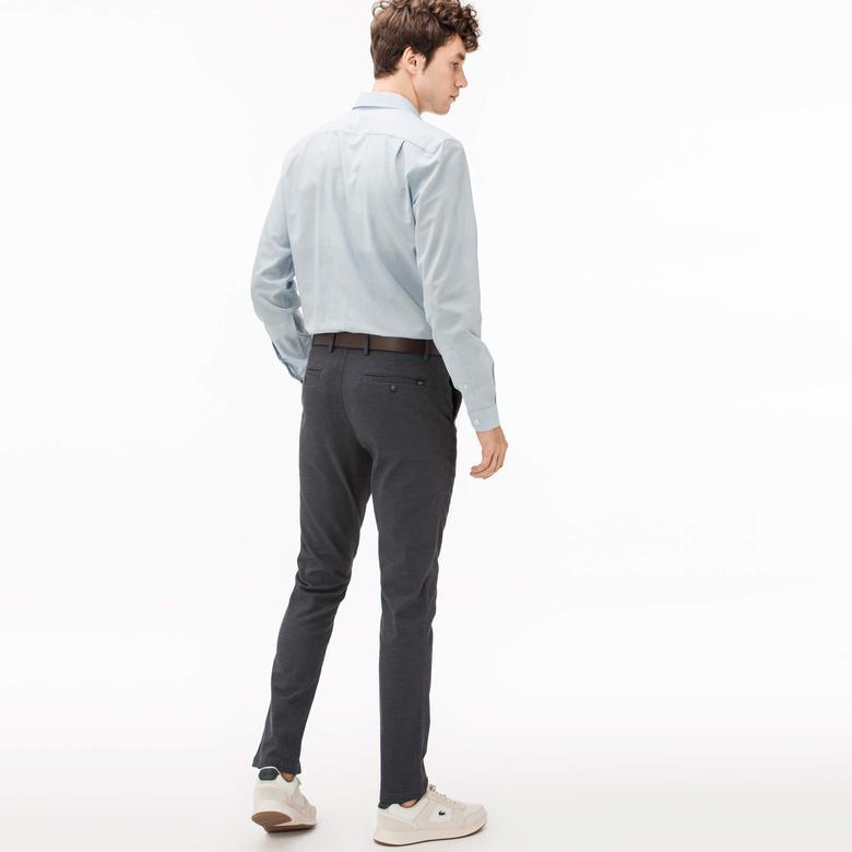 Lacoste Erkek Gri Chino Pantolon