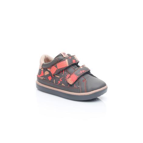 Camper Peu Bebek Gri Desenli Ayakkabı