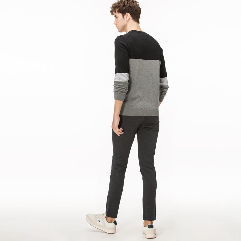 Lacoste Erkek Fitilli Siyah Pantolon