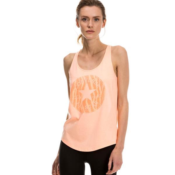 Converse Classic Kadın Sari Tshirt