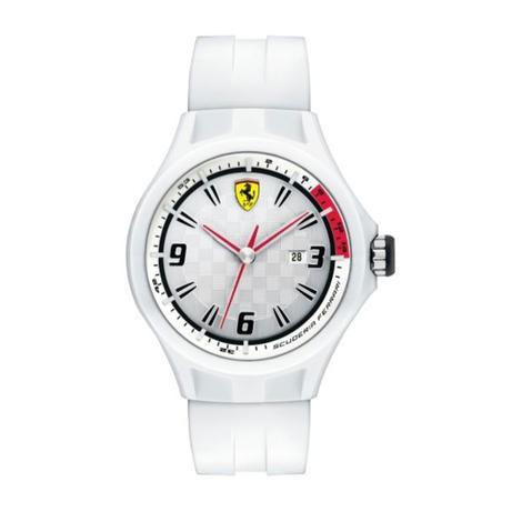 Ferrari Erkek Beyaz Saat
