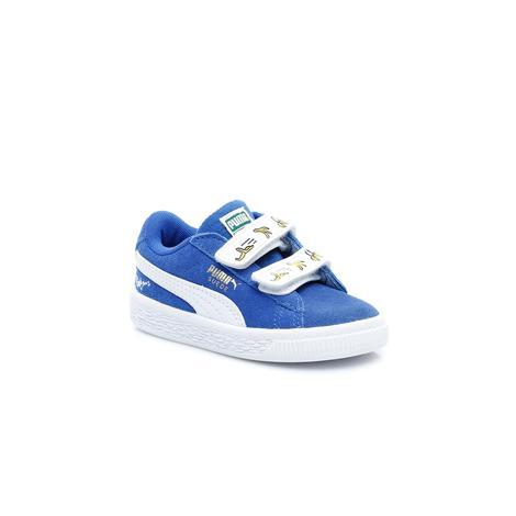 Puma Çocuk Beyaz Ayakkabı