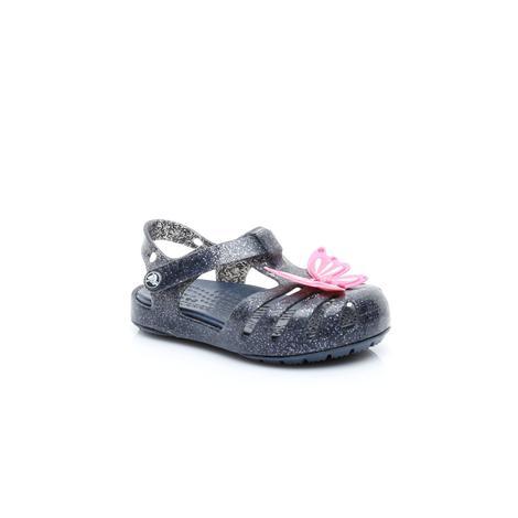 Crocs Çocuk Siyah Simli Ayakkabı