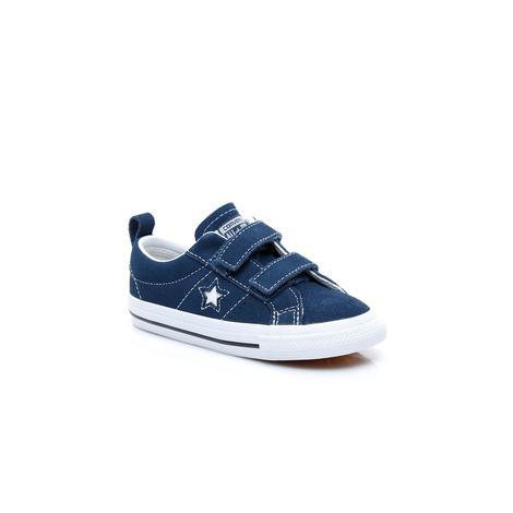 Converse Converse One Star 2V Çocuk Lacivert Sneaker