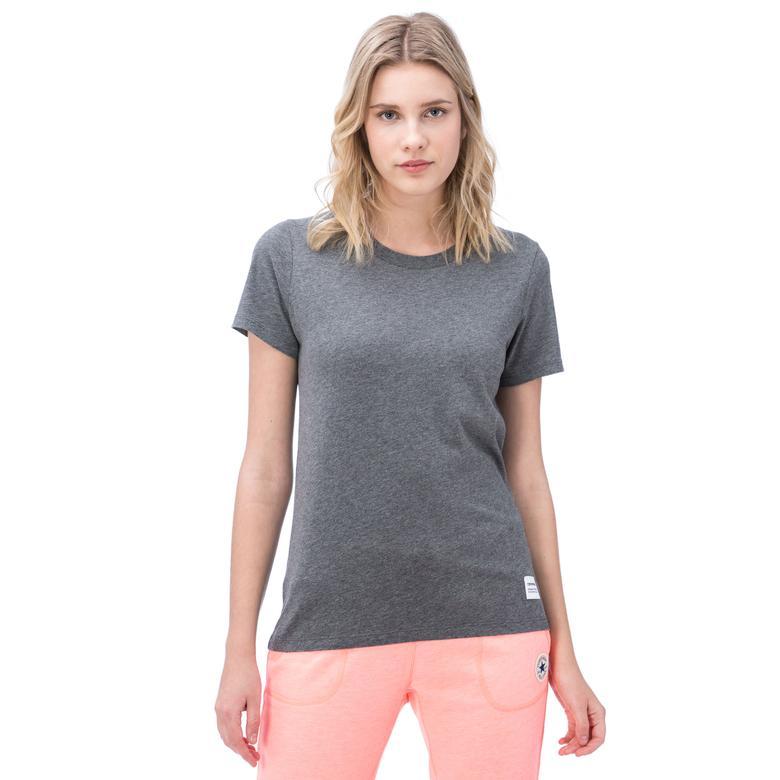 Converse Kadın Gri Tshirt