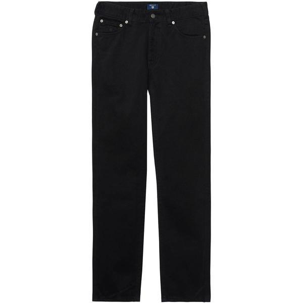 Soft Twill Erkek Siyah Regular Jean