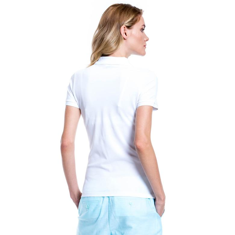 Nautica Kadın Beyaz Polo