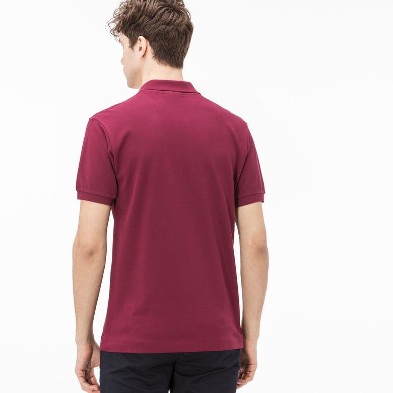 Lacoste Erkek Klasik Fit Bordo Polo